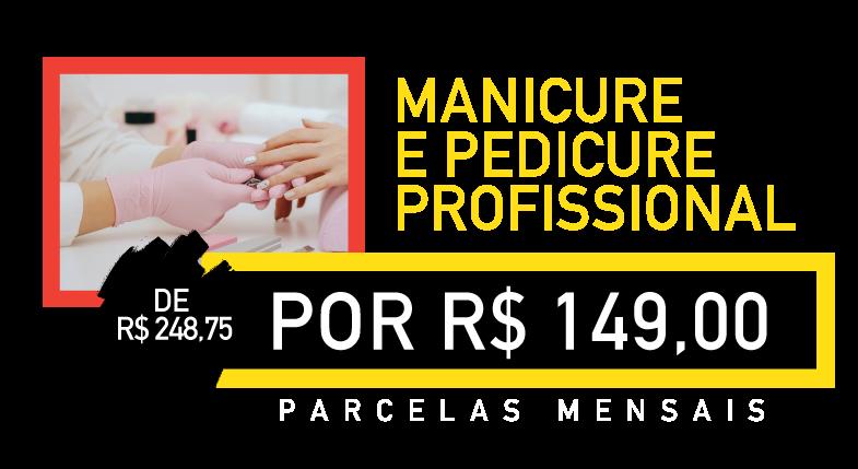 manicure e pedicure profissional